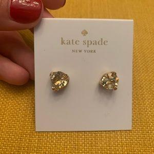 NWT Yellow Rhinestone Kate Spade New York Earrings